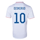 USA 2014 DISKERUD Home Soccer Jersey