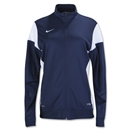 Nike Women's Academy 14 Sideline Knit Jacket (Navy/White)