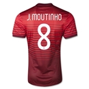 Portugal 14/15 J. MOUTINHO Authentic Home Soccer Jersey
