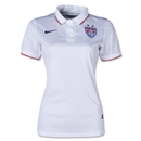 USA 14/15 Women's Home Soccer Jersey