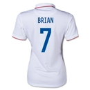USA 14/15 BRIAN Women's Home Soccer Jersey