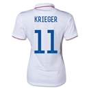 USA 2014 KRIEGER Women's Home Soccer Jersey