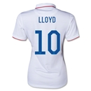 USA 2014 LLOYD Women's Home Soccer Jersey