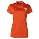 Netherlands 2014 Women's Home Soccer Jersey