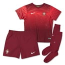 Portugal 2014 Little Boys Home Soccer Kit