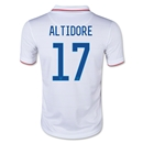 USA 2014 ALTIDORE Youth Home Soccer Jersey