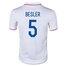 USA 2014 BESLER Youth Home Soccer Jersey