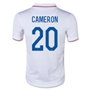 USA 2014 CAMERON Youth Home Soccer Jersey