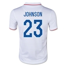 USA 2014 JOHNSON Youth Home Soccer Jersey