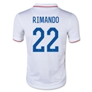 USA 2014 RIMANDO Youth Home Soccer Jersey