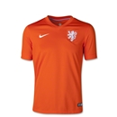 Netherlands 2014 Youth Home Soccer Jersey