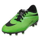 Nike Hypervenom Phelon FG KIDS Cleats (Neo Lime/Total Crimson/Black)