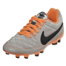 Nike Junior Tiempo Genio Leather FG (Desert Sand/Black)