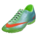 Nike Mercurial Victory IV TF (Neo Lime/Metallic Silver/Polarized Blue/Total Crimson)