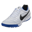 Nike Tiempo Legacy TF (White/Treasure Blue)