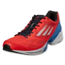 adidas adizero Feather 2 (Infrared/Running White/Bright Blue)