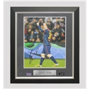 ICONS Leo Messi Signed Photo Record Breaking 91st Goal (Framed)