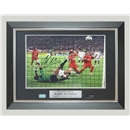 ICONS Signed Xabi Alonso 2005 Champions League Final Photo (Framed)