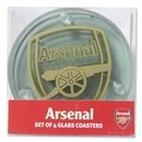 Arsenal Round Coasters