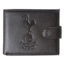Tottenham Hotspur Embossed Crest Leather Wallet
