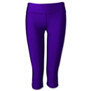 Under Armour Women's HeatGear Sonic Capri 14 (Purple)