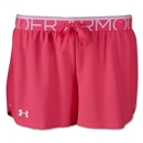 Under Armour Women's Play Up Short (Pink/White)
