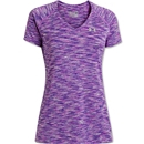 Under Armour Women's Space Dye T-Shirt (Lavender)