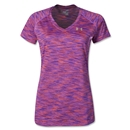 Under Armour Women's Space Dye T-Shirt (Purple)