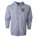 Jaguares Distressed Full Zip Hooded Fleece (Gray)