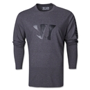 Warrior Tonal Long Sleeve 50/50 T-Shirt (Black)