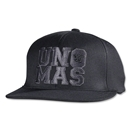 Warrior Uno Mas Flatbrim Hat (Black)