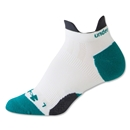 Under Armour Women's Ultra Lite Double Tab Sock (White)