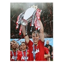 Icons Nemanja Vidic Signed Manchester United Photo