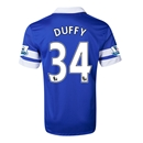 Everton 13/14 DUFFY Home Soccer Jersey