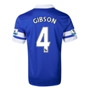 Everton 13/14 GIBSON Home Soccer Jersey