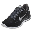 Nike Women's Lunarglide+ 5 Running Shoe (black/dark grey/white)