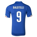 Italy 2014 BALOTELLI Authentic Home Soccer Jersey