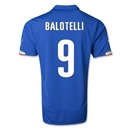 Italy 2014 BALOTELLI Home Soccer Jersey