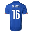 Italy 2014 DE ROSSI Home Soccer Jersey