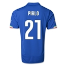 Italy 2014 PIRLO Home Soccer Jersey