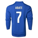Italy 2014 ABATE LS Home Soccer Jersey