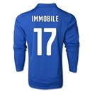 Italy 2014 IMMOBILE LS Home Soccer Jersey