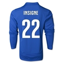 Italy 2014 INSIGNE LS Home Soccer Jersey