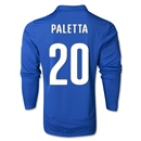 Italy 2014 PALETTA LS Home Soccer Jersey