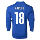 Italy 2014 PAROLO LS Home Soccer Jersey