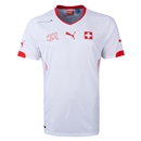 Switzerland 2014 Away Soccer Jersey