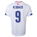 Chile 2014 H. SUAZO Away Soccer Jersey