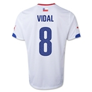 Chile 2014 VIDAL Away Soccer Jersey