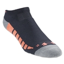 Under Armour Women's Full Cushion Performance Sock (Blk/Orange)