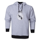 Real Madrid Crest Hoody (Gray)
